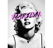 Marilyn. Photographic Print