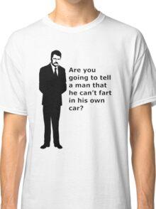 """swanson - quote"" Classic T-Shirt"