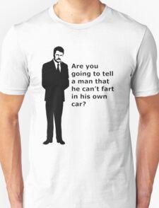 """swanson - quote"" T-Shirt"