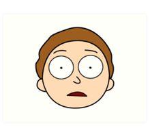 Hey Morty! Art Print