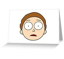 Hey Morty! Greeting Card