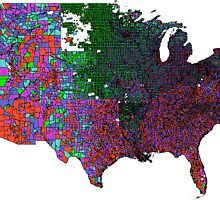 US Census demographic and GIS data products by geolytics