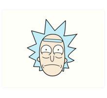 It's Rick! Art Print