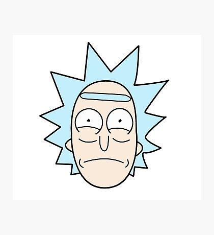 It's Rick! Photographic Print