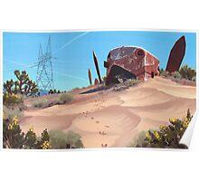 Mojave Metal III Poster