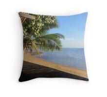 Coral Coast Fiji  Throw Pillow