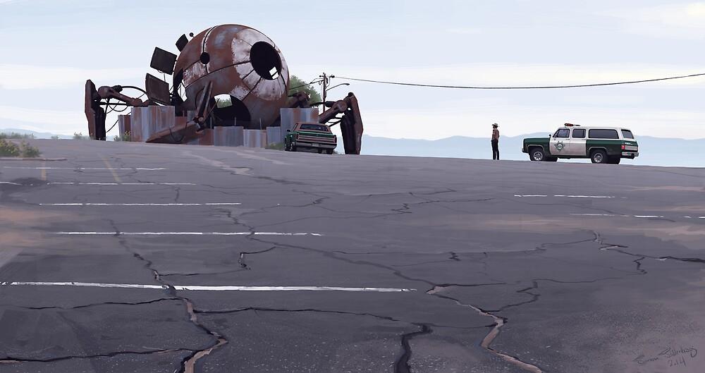 Mojave Metal IV by Simon Stålenhag