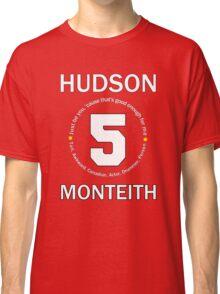 Cory Monteith Tribute - White Classic T-Shirt