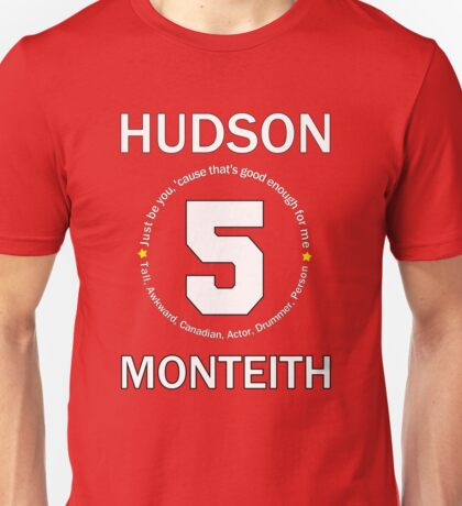 Cory Monteith Tribute - White Unisex T-Shirt