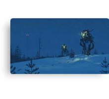 Nattens Röntgenplåt Canvas Print