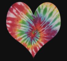 Tie Dyed Heart by ThatOneWeirdGuy