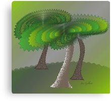 Green Scene Canvas Print