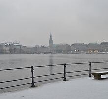 Hamburg Snow by vonb