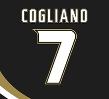 Anaheim Ducks Andrew Cogliano Jersey Back Phone Case by Russ Jericho