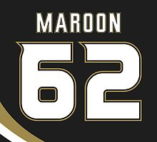 Anaheim Ducks Patrick Maroon Jersey Back Phone Case by Russ Jericho