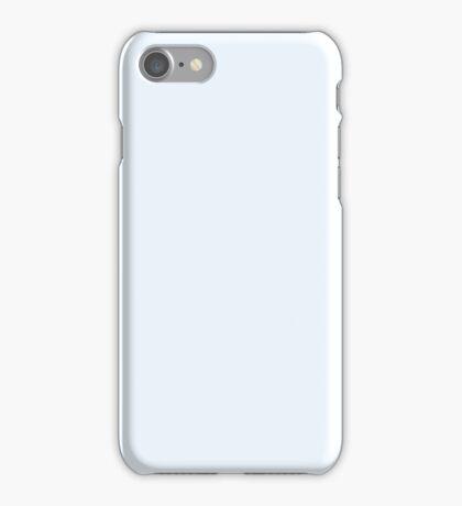 PURE COLOR-Alice Blue iPhone Case/Skin