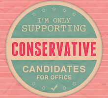 Support Conservatives by morningdance