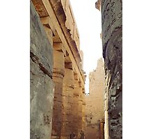 Great Hypostyle Hall, Temple of Karnak Photographic Print
