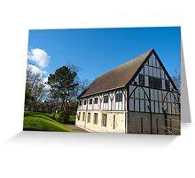 York,museum gardens,hospitium. Greeting Card