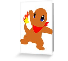 Charmander - Team Red Greeting Card