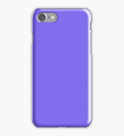 PURE COLOR-Medium Slate Blue iPhone Case/Skin