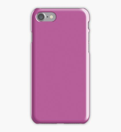 PURE COLOR-OLD ROSE iPhone Case/Skin