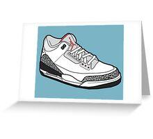 Jordan 3 Greeting Card