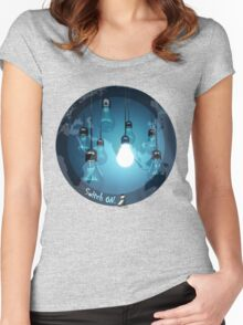Enlightenment Women's Fitted Scoop T-Shirt
