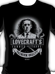 Lovecraft's Canned Octopus -Light- T-Shirt