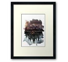 TMI Poster (Ink) Framed Print