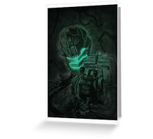 Dead-space Greeting Card
