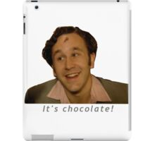 It's Chocolate! - IT Crowd iPad Case/Skin