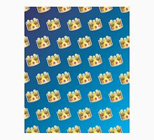 Crown Emoji Pattern Blue Classic T-Shirt