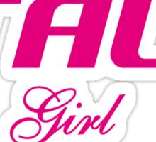 ITALY GIRL Sticker