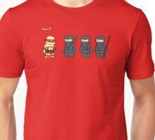 Not Proper Ninja Attire Unisex T-Shirt