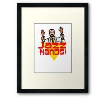 Jazz Hands! Framed Print