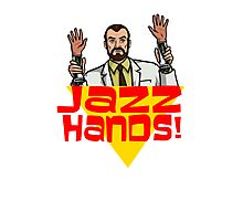 Jazz Hands! Photographic Print