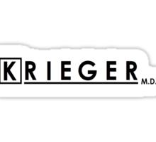 Krieger, MD Sticker