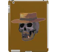 good skull in a hat iPad Case/Skin