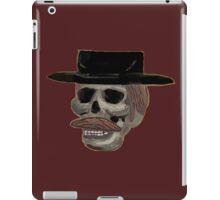 ugly skull in a hat iPad Case/Skin