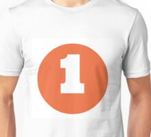 Number 1 Unisex T-Shirt