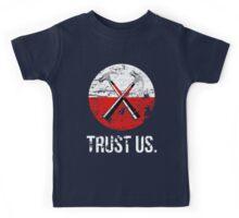 Pink Floyd TRUST US worn Kids Tee