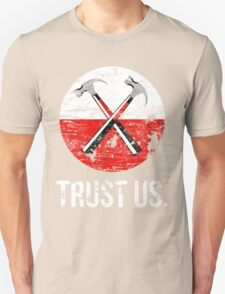 Pink Floyd TRUST US worn T-Shirt