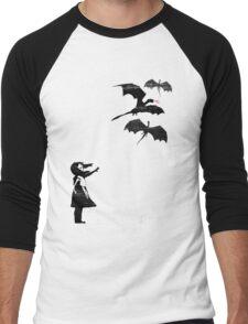 Dragons Will Be Dragons Men's Baseball ¾ T-Shirt