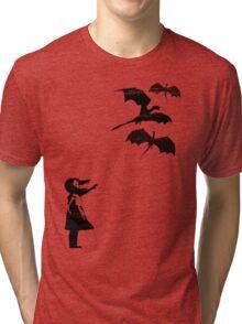 Dragons Will Be Dragons Tri-blend T-Shirt