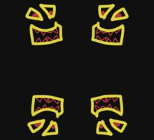 SCARY TEETH x4 by FLYBIRD