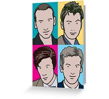 The Doctors 9 to 12 Greeting Card