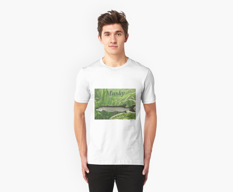 MUSKY T-SHIRT by Thomas Murphy