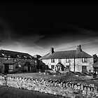 Jamaica Inn Black and White by Chris Thaxter
