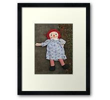 Ragged Framed Print